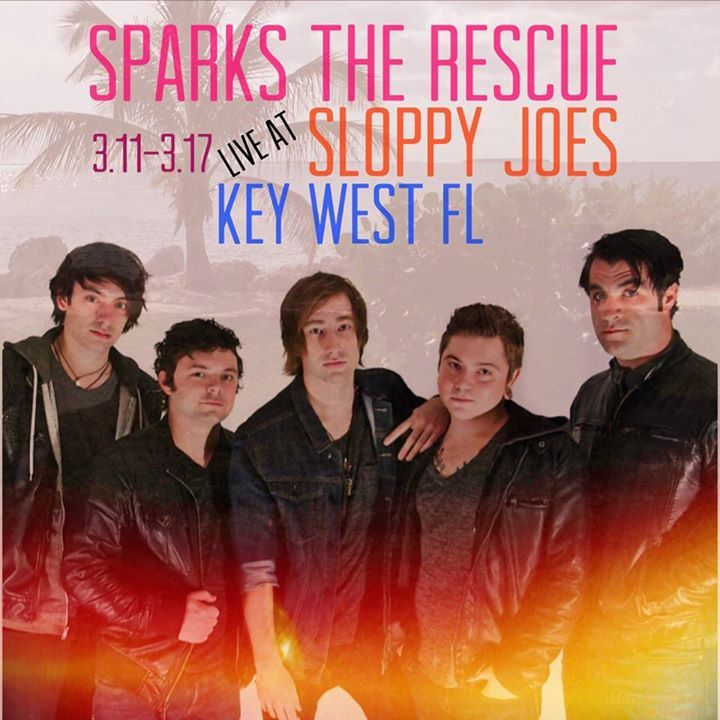Sparks the Rescue Tour Dates