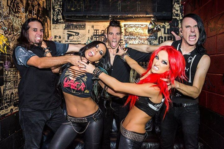 Butcher Babies @ Roseland Theater - Portland, OR