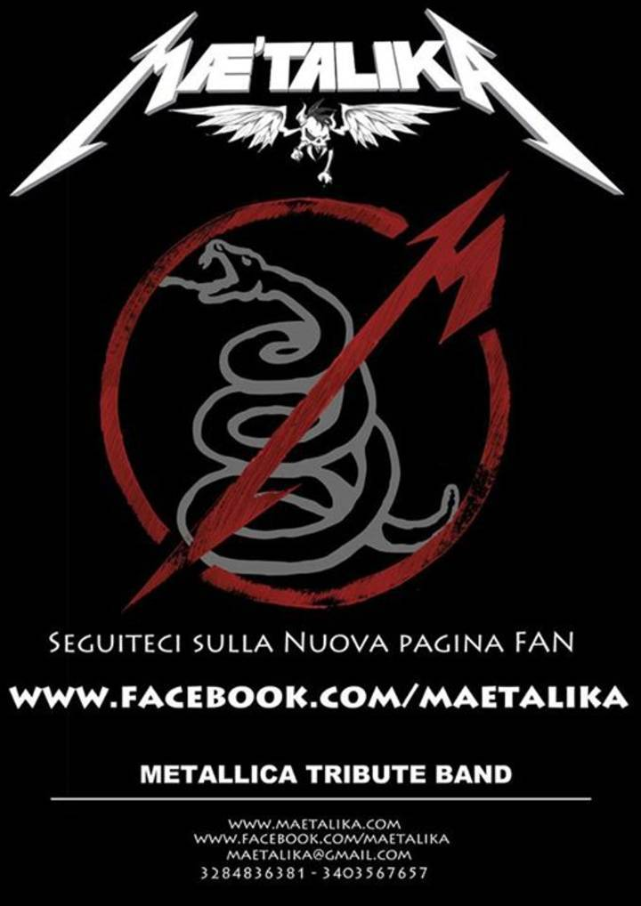 Mae'talika - Metallica Tribute Band Tour Dates