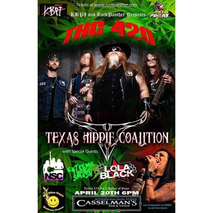 Texas Hippie Coalition @ Wooly's - Des Moines, IA