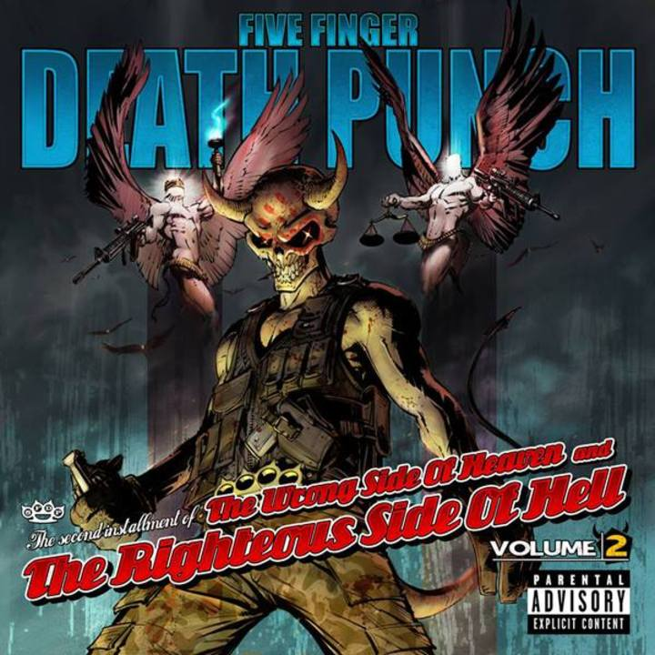 Five Finger Death Punch @ Lonestar Amphitheater - Lubbock, TX