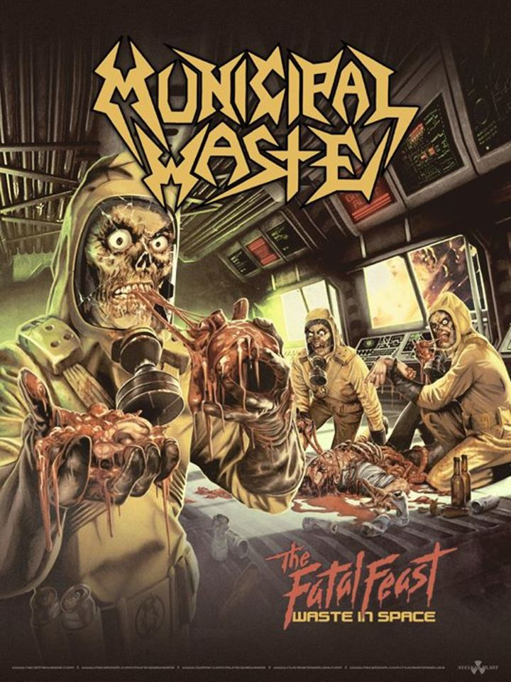 Municipal Waste @ Tremont Music Hall - Charlotte, NC