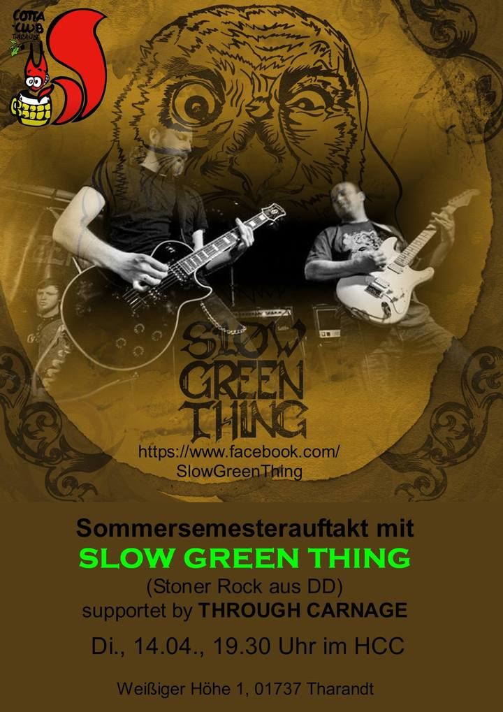 SLOW GREEN THING @ Heinrich Cotta Club - Tharandt, Germany