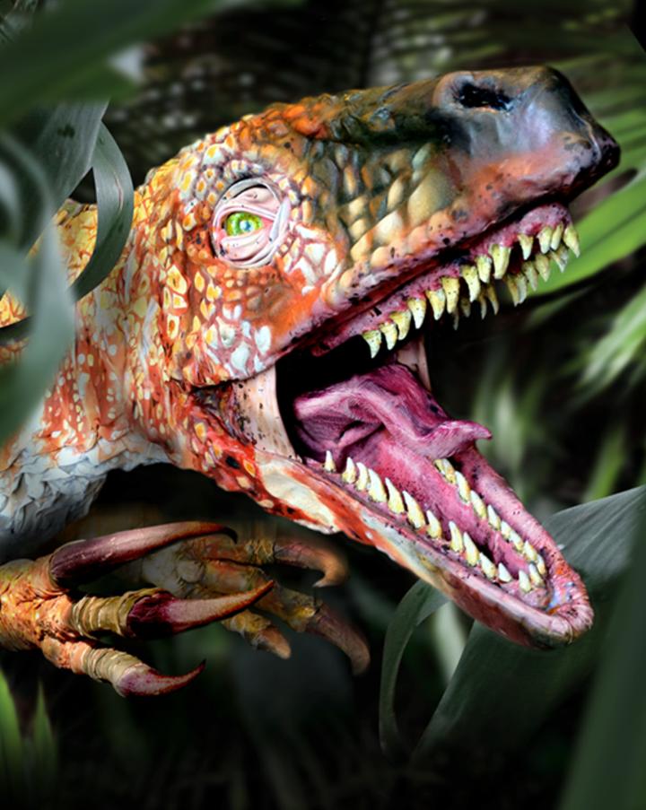 Erth's Dinosaur Petting Zoo @ Mesa Arts Center - Mesa, AZ
