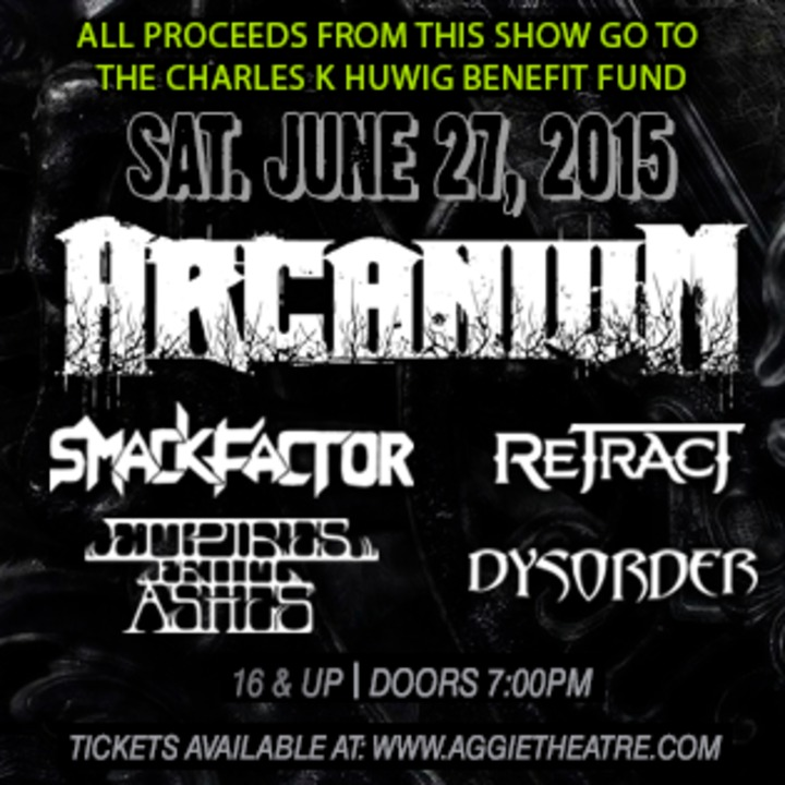 Arcanium Tour Dates