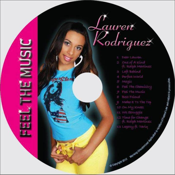 Lauren Rodriguez at Lauren4ever.com & iTunes Tour Dates
