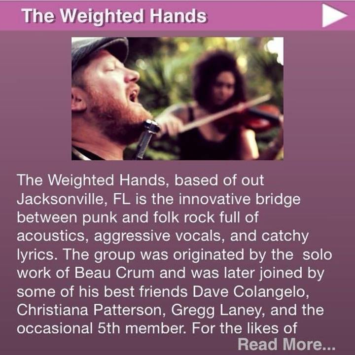 the weighted hands Tour Dates