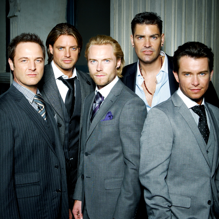 Boyzone @ Chelmsford City Racecourse - Chelmsford, United Kingdom