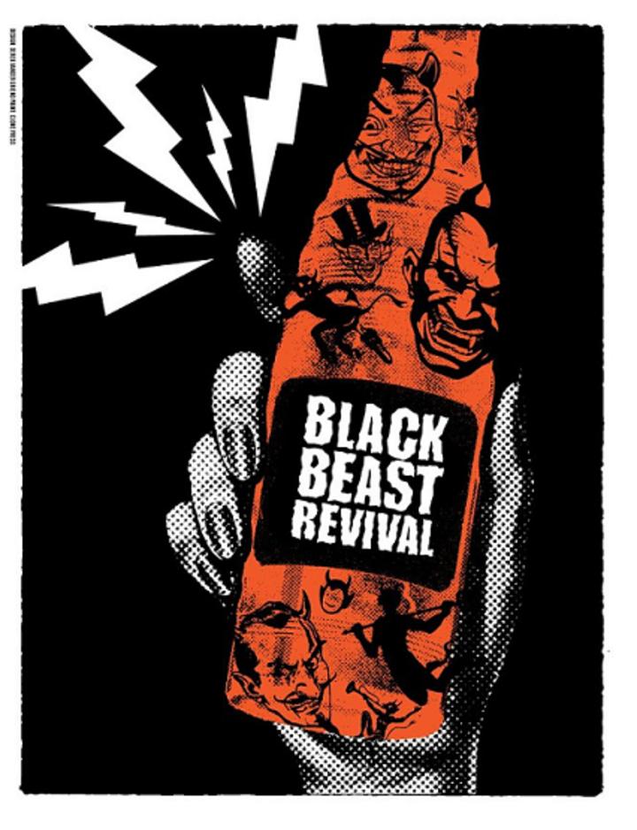 Black Beast Revival @ Whitaker Block Party - Eugene, OR