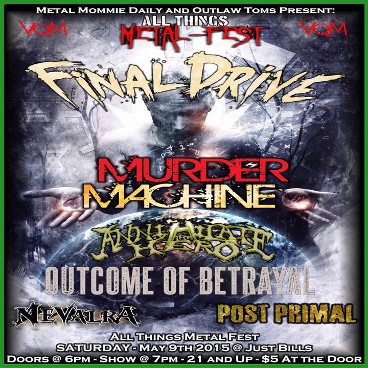 Murder Machine Mafia Tour Dates