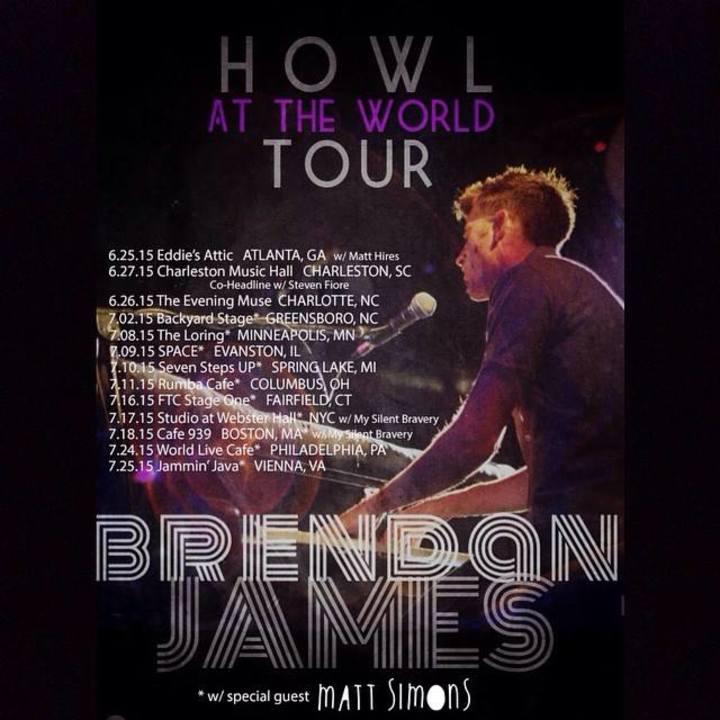 Brendan James @ House of Blues New Orleans - New Orleans, LA