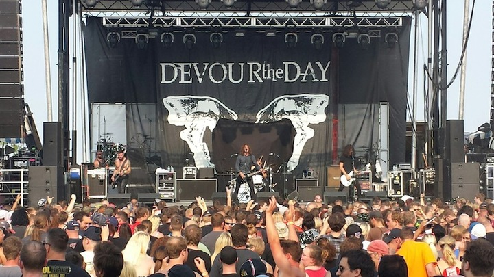Devour The Day @ Wooly's - Des Moines, IA