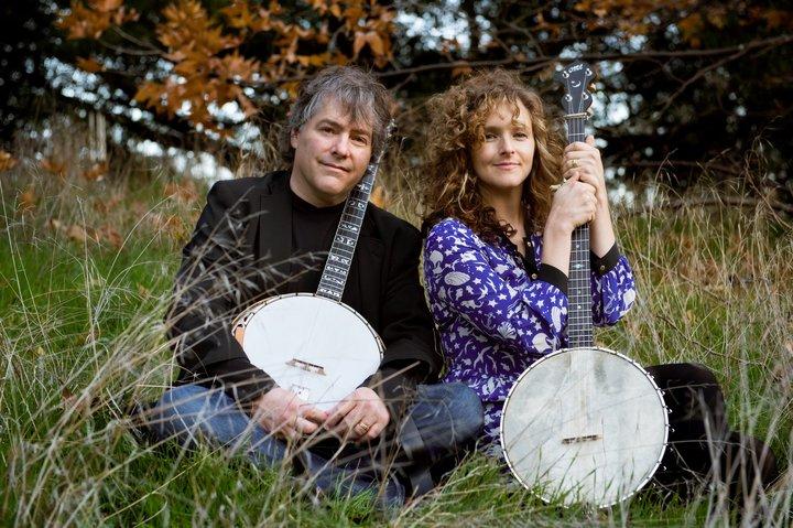 Béla Fleck & Abigail Washburn @ Wide Open Bluegrass Festival  - Raleigh, NC
