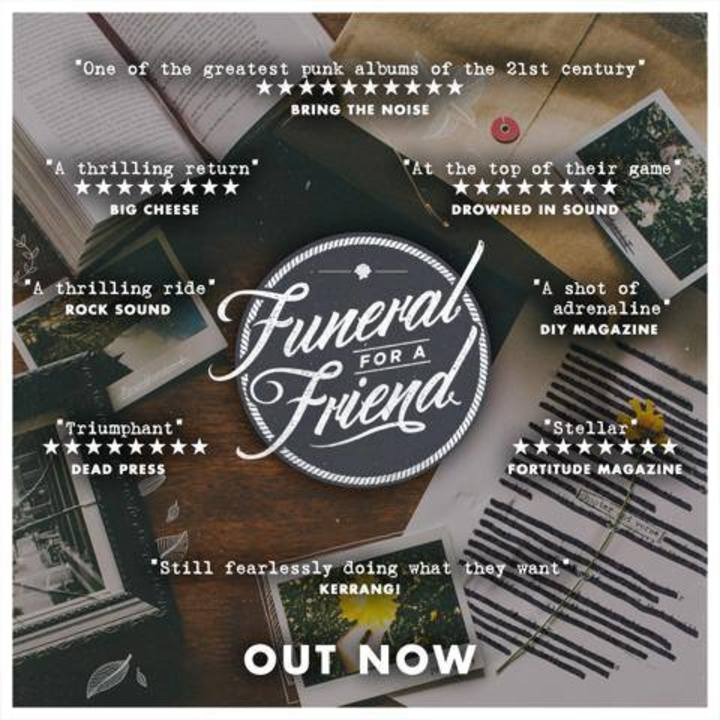 Funeral for a Friend @ The Peel (Matinee Show) - Kingston, United Kingdom