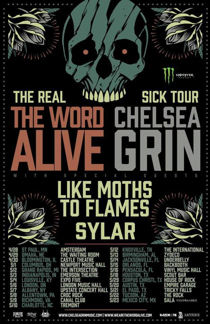 The Word Alive @ Showbox @ Market - Seattle, WA