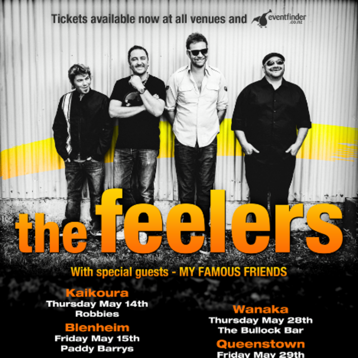 The Feelers @ Cardiff University Students Union - Blackweir, United Kingdom