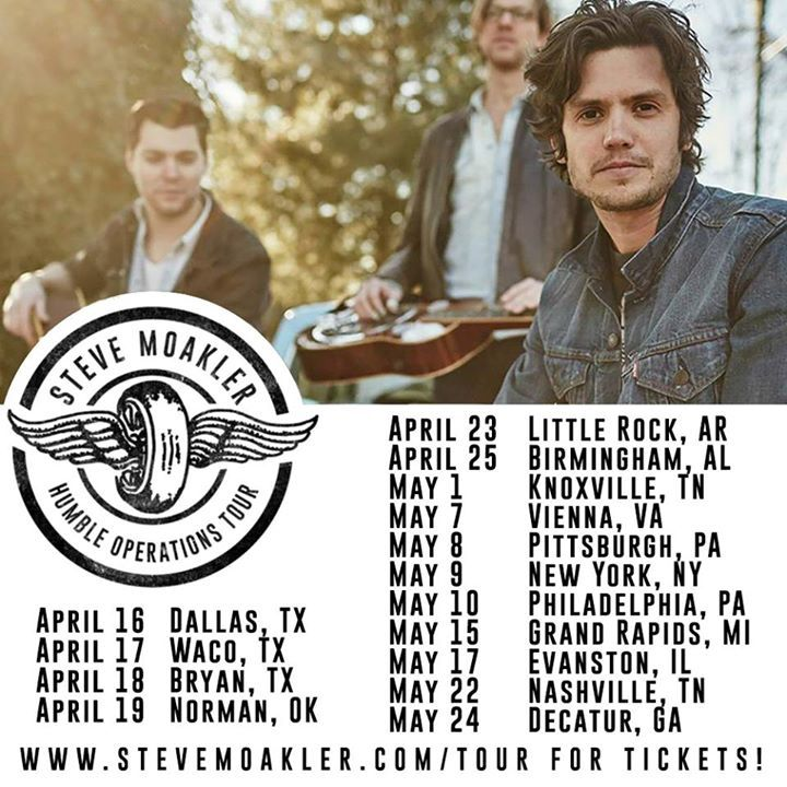 Steve Moakler @ The Square Room - Knoxville, TN