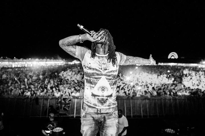 Waka Flocka Flame @ Wireless Festival - London, United Kingdom