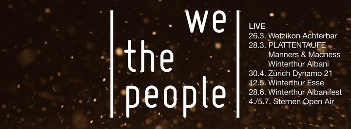 We the People Tour Dates