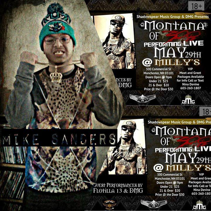 Mike Sanders Tour Dates