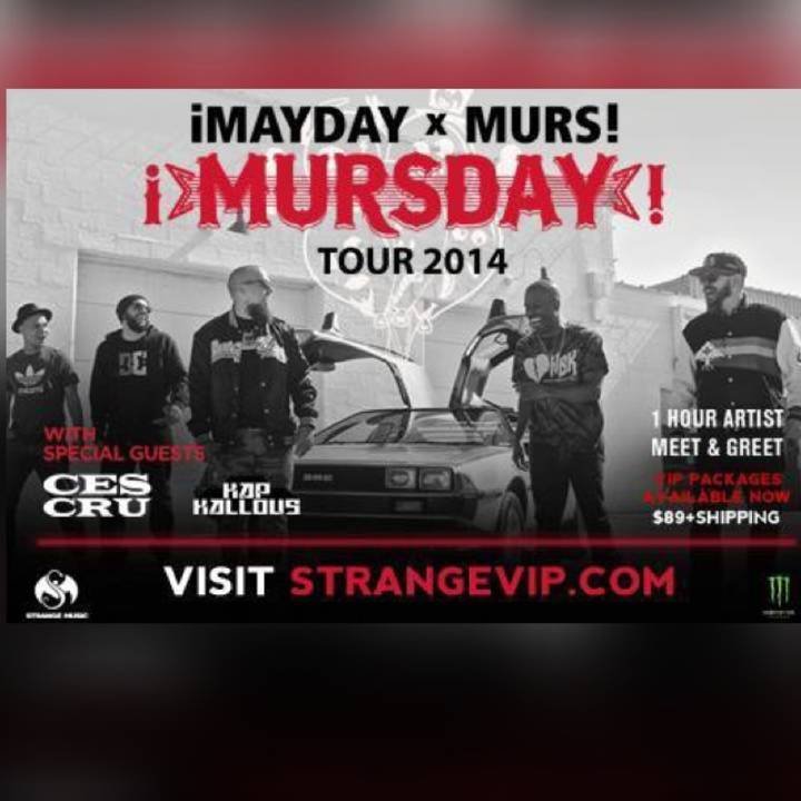 MAYDAYBLVRS Tour Dates