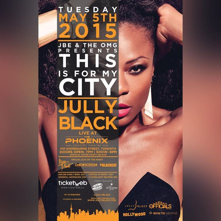 Jully Black @ Festival Place - Strathcona County, Canada