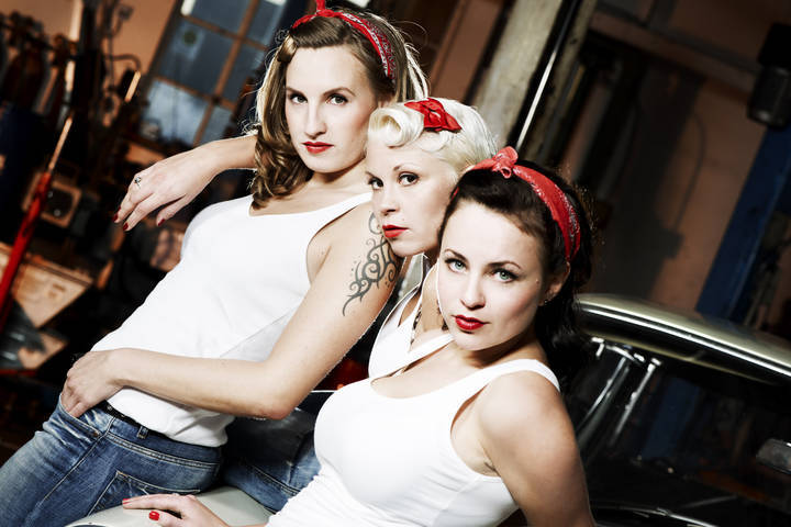 The Silverettes @ Cotton-Club - Hamburg, Germany