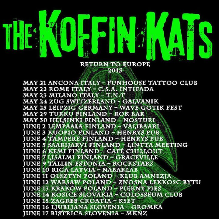 Koffin Kats @ Brauer House - Lombard, IL