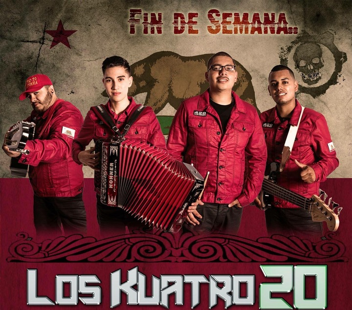 Los Kuatro20 de California Tour Dates