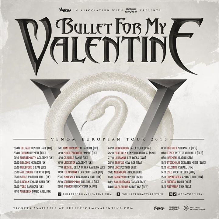 Bullet for My Valentine @ State Theatre - Portland, ME