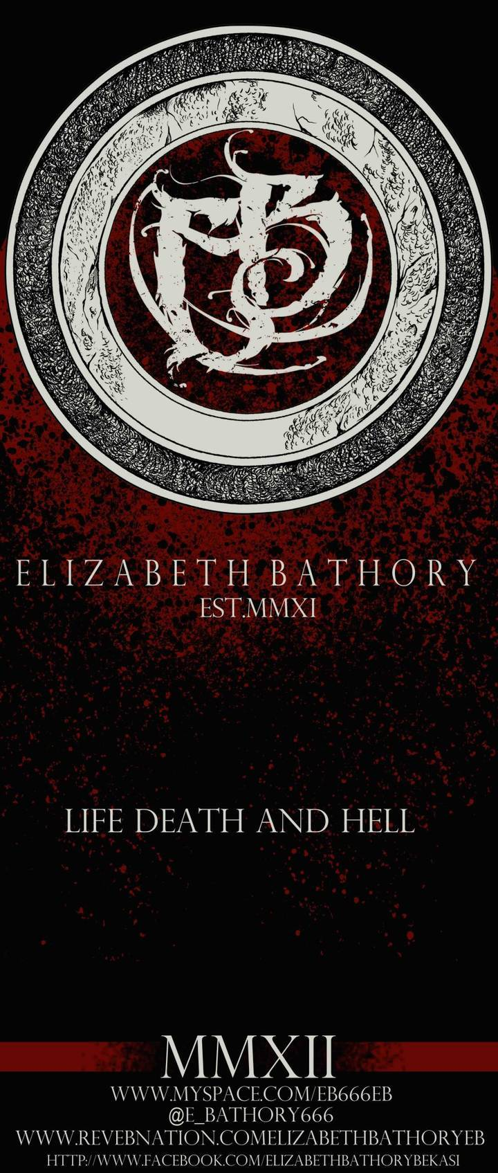 Elizabeth Bathory (E.B) Tour Dates
