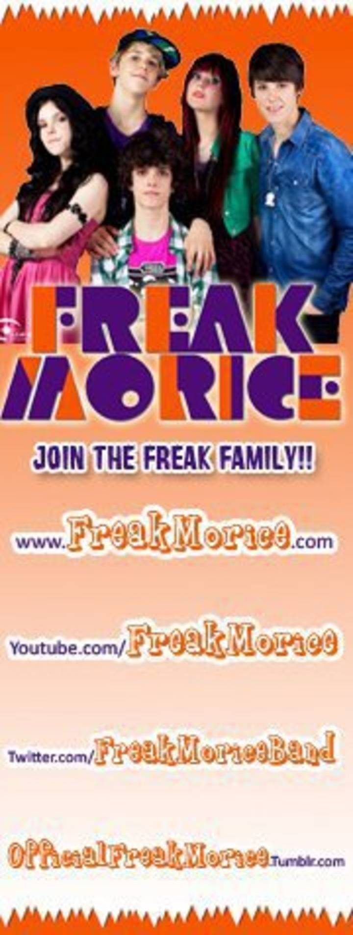 freak morice fan site Tour Dates