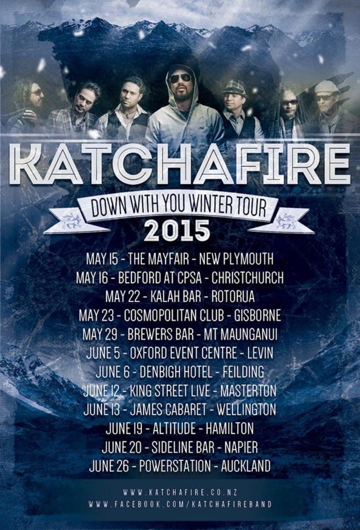 Katchafire @ Uptown Theatre Napa - Napa, CA