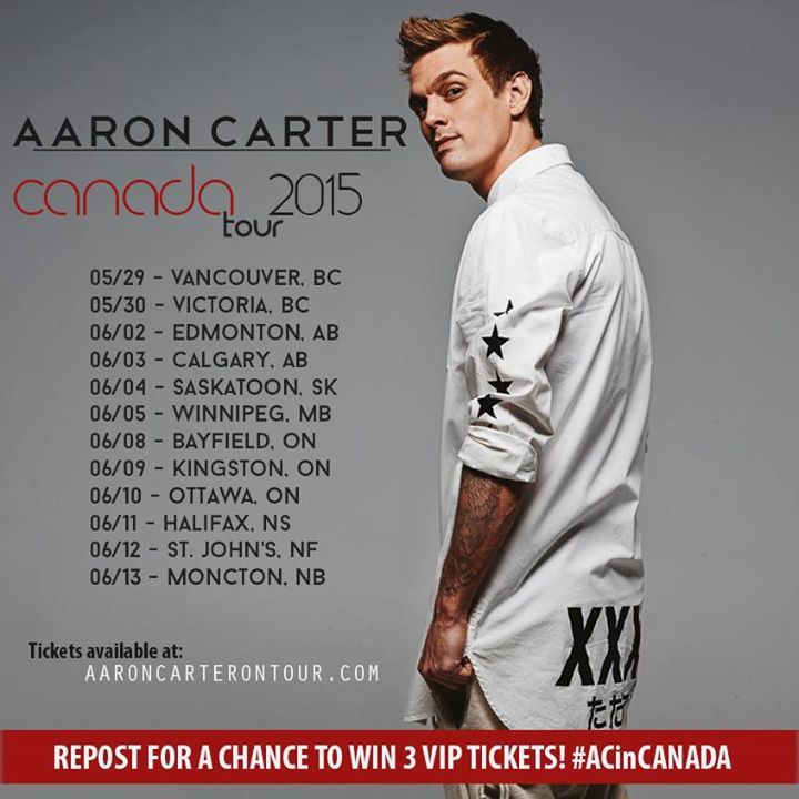 Aaron Carter @ Baltimore Soundstage - Baltimore, MD