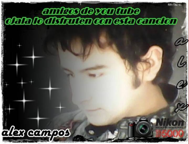 Fans de alex campos Tour Dates