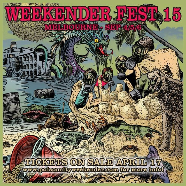 the Weekender @ Hi-Dive - Denver, CO