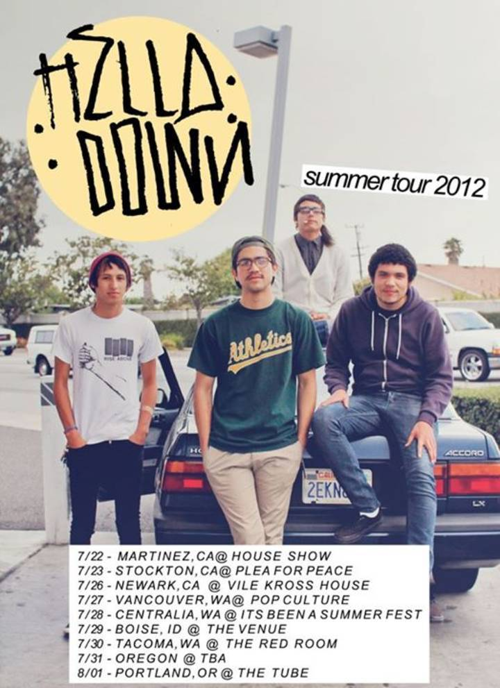 Hella Down Tour Dates