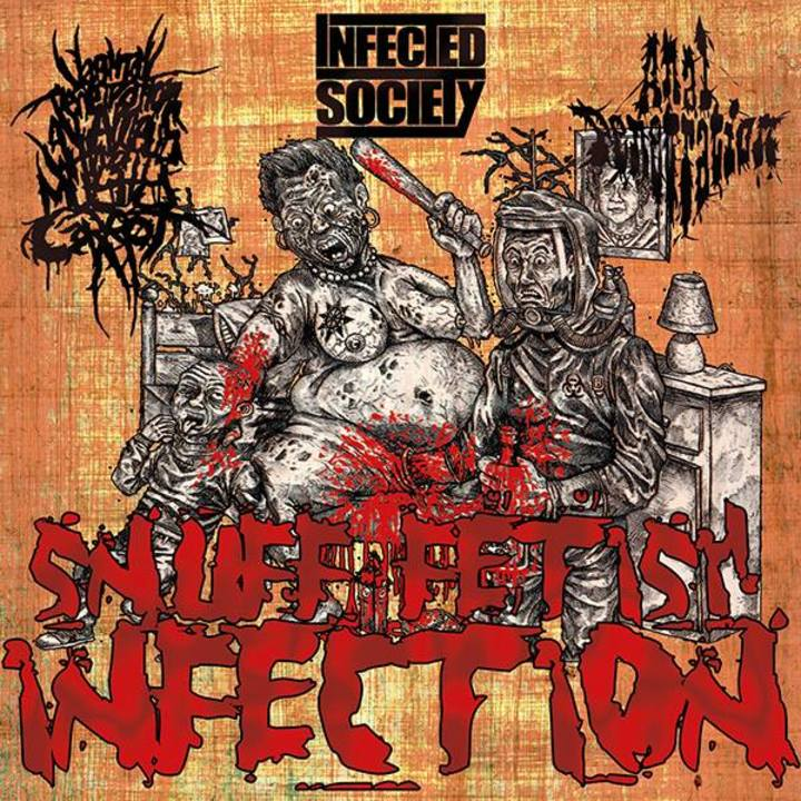 Infected Society @ La Lune des Pirates - Amiens, France