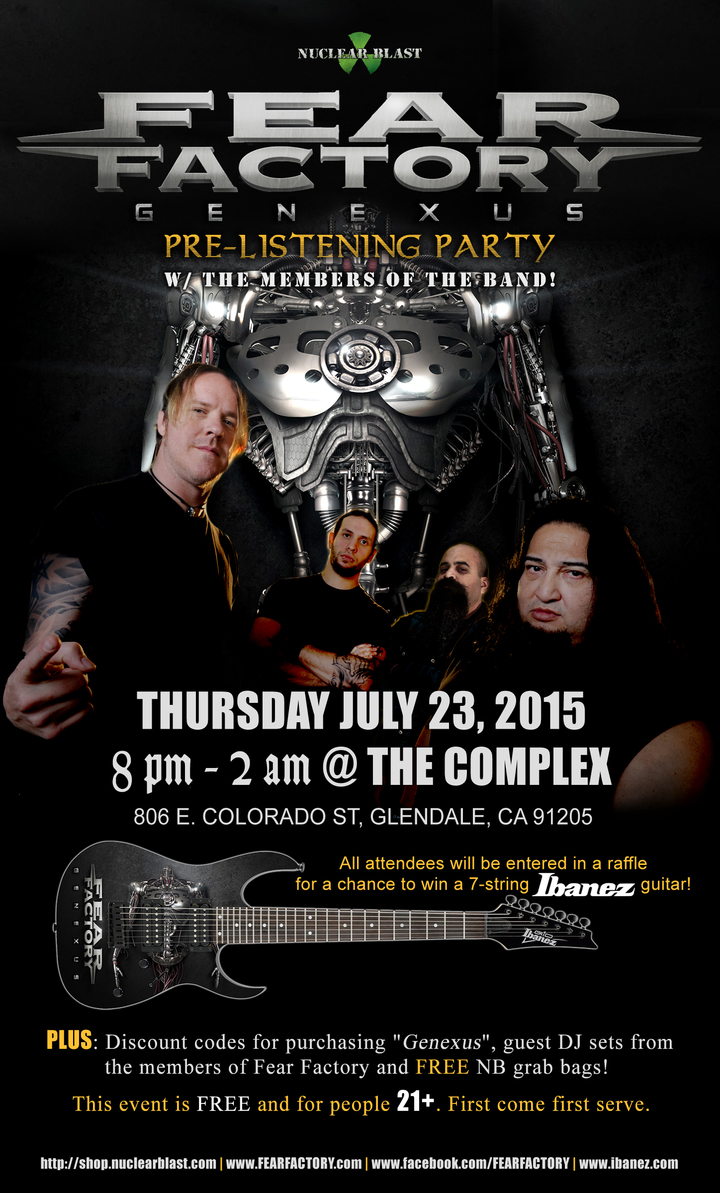 Fear Factory @ The Complex - Glendale, CA