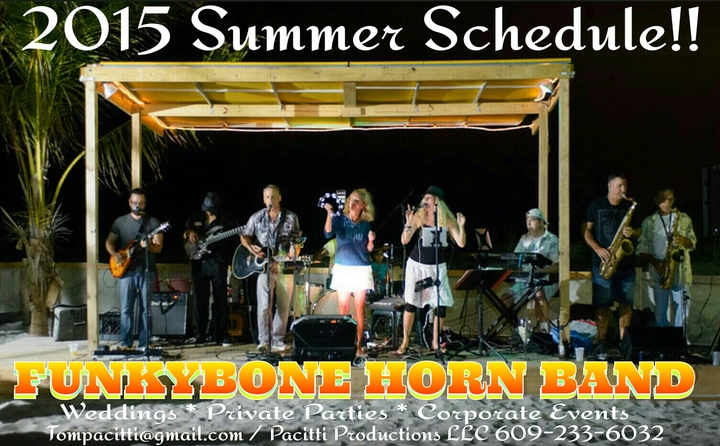Funkybone Horn Band Tour Dates