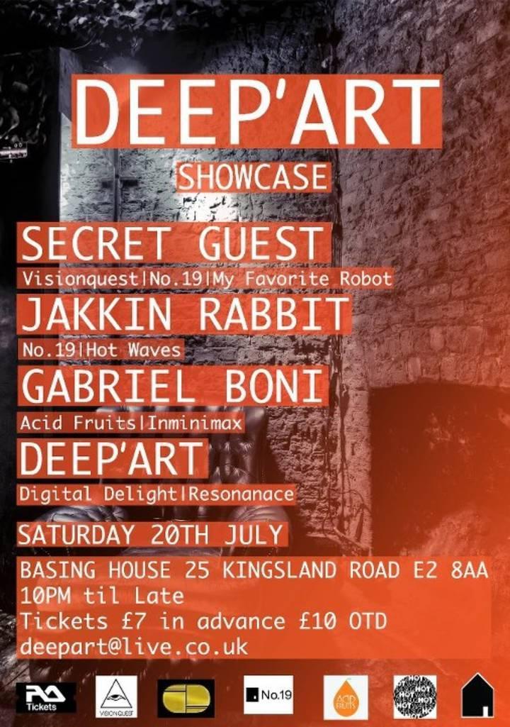 Deep'art Tour Dates