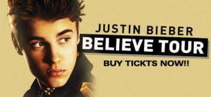 Justin Bieber concert ticket Indonesia 2013 Tour Dates