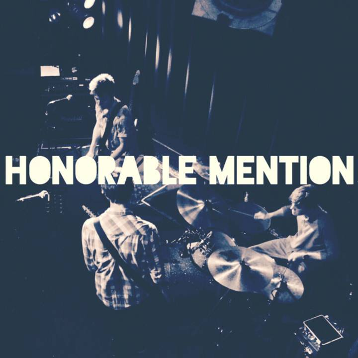 Honorable Mention Tour Dates