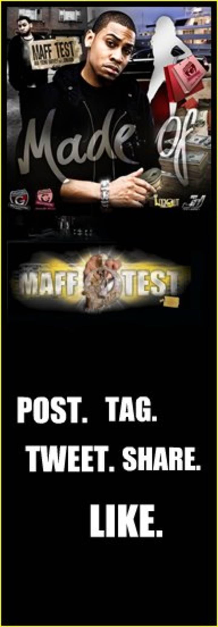 Maff Test a.k.a. young harvey Tour Dates