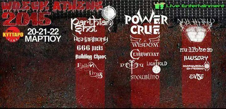 Parthian Shot Tour Dates