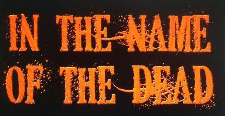 In The Name Of The Dead Tour Dates