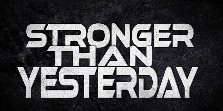 Stronger Than Yesterday Tour Dates
