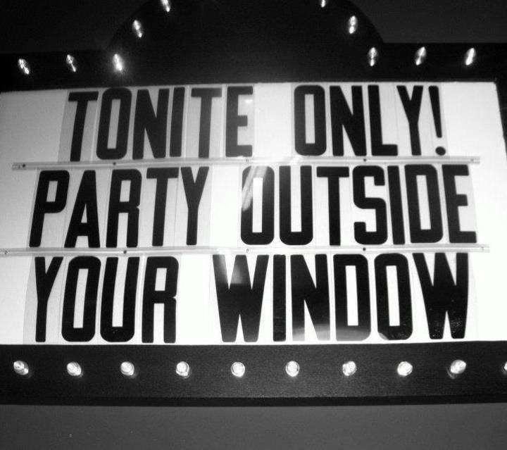 Party Outside Your Window Tour Dates