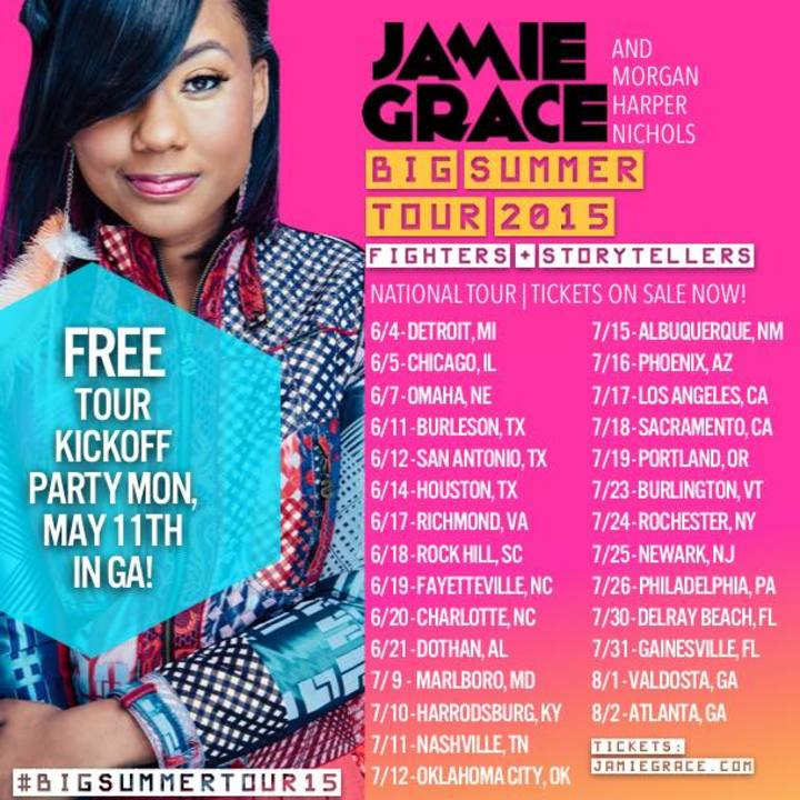 Jamie Grace Tour Dates