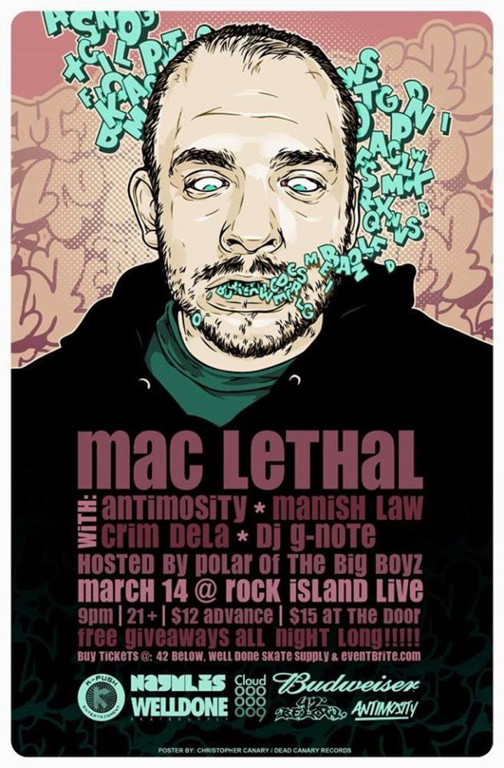 Mac Lethal @ Hard Luck Cafe - Gravette, AR
